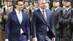 Pellegrini sa stretol s poľským premiérom, chce zorganizovať kohézny summit