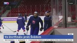 Mladí slovenskí hokejisti sa v štvrťfinále stretnú so Švédmi