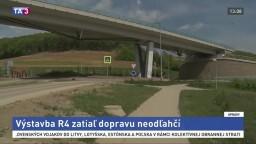 Výstavba cesty R4 odľahčí Prešov, obce zatiaľ zmenu nepocítia