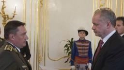 Armáda má nového šéfa, Kiska vymenoval Maximovho nástupcu