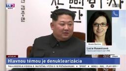 L. Húsenicová o summite dvoch Kóreí