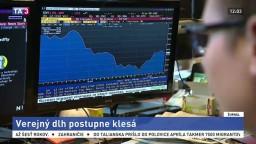 Verejný dlh pomaly klesá, prispel k tomu rast ekonomiky