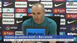 Iniesta končí v Barcelone, v Európe už hrať nebude
