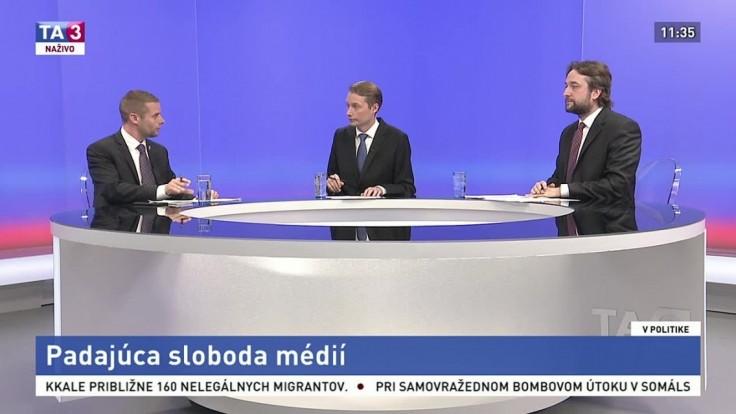 Blaha sa zastal politikov, s Klusom im chýbajú objektívne médiá