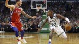 NBA: Celtics zdolali Philadelphiu, chýbali im zranení hráči