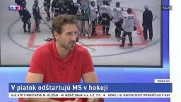 ŠTÚDIO TA3: B. Valábik o šanciach slovenských hokejistov