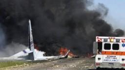 Vojenské lietadlo havarovalo krátko po štarte, nikto neprežil