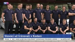 Reprezentácia sa ubytovala v Kodani, má za sebou prvý tréning