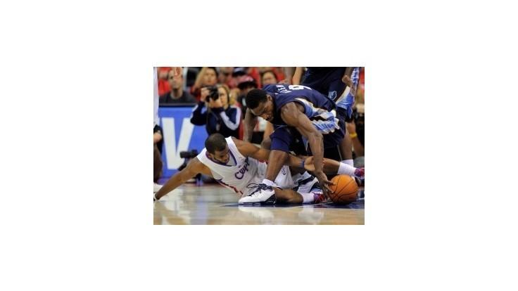 NBA: Memphis zdolal Clippers a vynútil si siedmy zápas