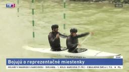 V Čunove prebieha boj o postup do slalomovej reprezentácie