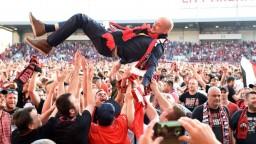 Spartak oslavuje. Po dlhých rokoch získal titul majstra Slovenska