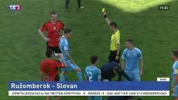 Ružomberok zdolal na domácej pôde futbalistov Slovana