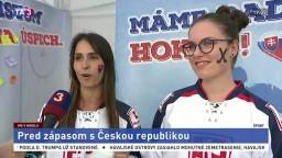 Fanúšikovia sa podelili o pocity pred zápasom s Čechmi
