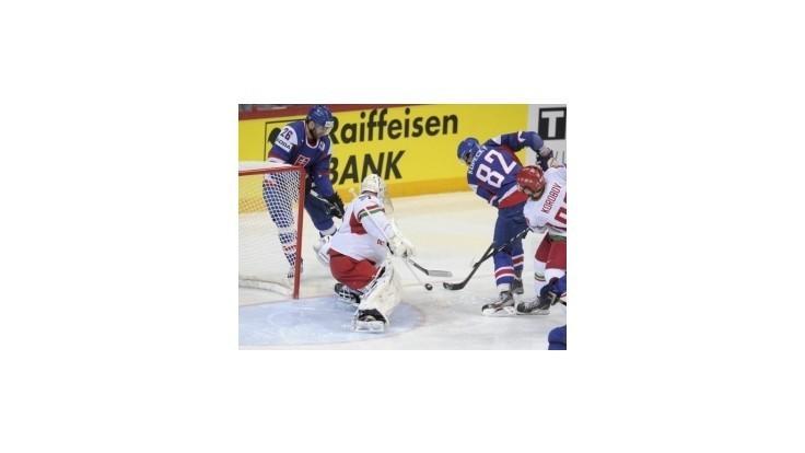 Slovenskí hokejisti zdolali Bielorusko vysoko 5:1