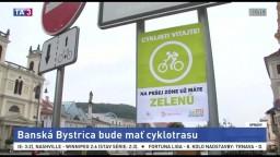 V Banskej Bystrici začali stavať historicky prvú cyklotrasu