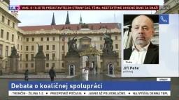 Politológ J. Pehe o možnom vývine na českej politickej scéne