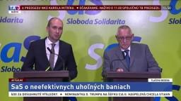 TB predstaviteľov SaS o neefektívnych uhoľných baniach