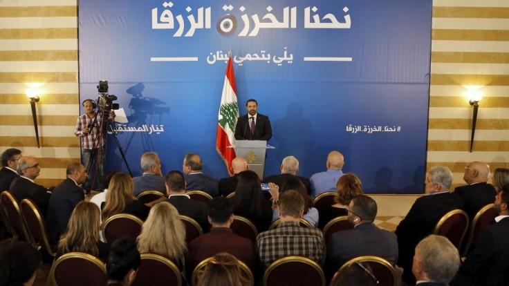 Voľby v Libanone sprevádzala nízka účasť, premiér uznal prehru