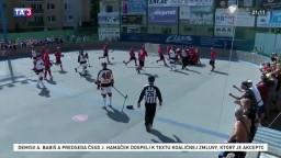 O hokejbalový titul sa pobijú LG Bratislava a Vrútky