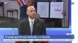 ŠTÚDIO TA3: G. Futó a J. Lepš o odstúpení USA od jadrovej dohody