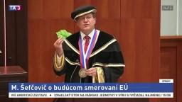 Prejav M. Šefčoviča o budúcom smerovaní Európskej únie