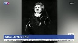 Zomrela Anna Kajabová-Peňašková, dlhoročná sólistka Opery SND