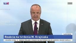 TB ministra P. Gajdoša o obstaraní vozidiel 8x8 a tvrdeniach poslanca Krajniaka