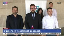 TB členov strany Progresívne Slovensko o zmenách v školských zákonoch