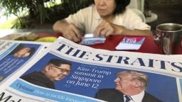 Termín historického stretnutia lídrov USA a KĽDR má pozitívne ohlasy