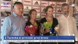 Volejbalistky Dubovcová a Štrbová získali bronz