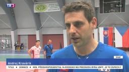 Tréner volejbalistov A. Kravárik o šanciach tímu pred vrcholom sezóny