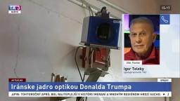 Spolupracovník TA3 I. Teleky o odstúpení USA od jadrovej dohody