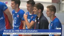 Volejbalového reprezentanta Petráša chcú do nemeckého tímu