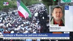 M. Dorazín o rokovaniach Iránu a Ruska v Moskve