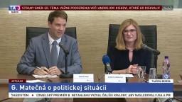 TB G. Matečnej o aktuálnej politickej situácii