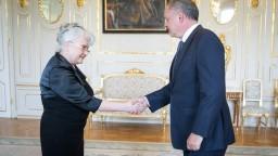 Šéfku Najvyššieho súdu Švecovú prijal prezident