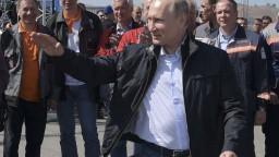 Putin otvoril nový most, spája Rusko s polostrovom Krym