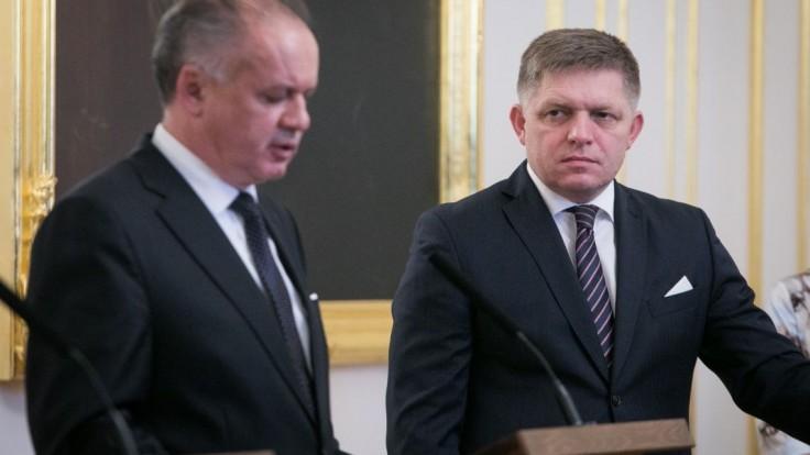Kiska sa rozhodol, Fico reaguje: Prezident skrýva niečo nekalé