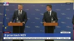 TB P. Pellegriniho a M. Lajčáka o prioritách rezortu zahraničných vecí