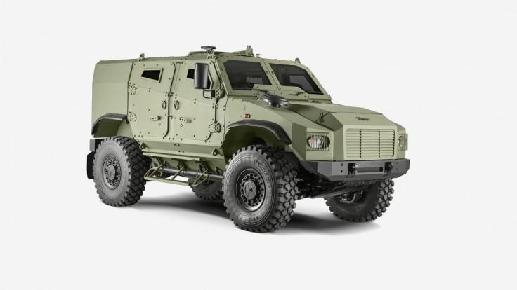 Predstavenie novinky na IDEB 2018: GERLACH - Taktické obranné vozidlo 4x4