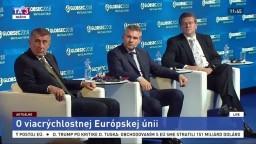 Záznam vystúpenia P. Pellegriniho, A. Babiša a M. Šefčoviča na konferencii Globsec