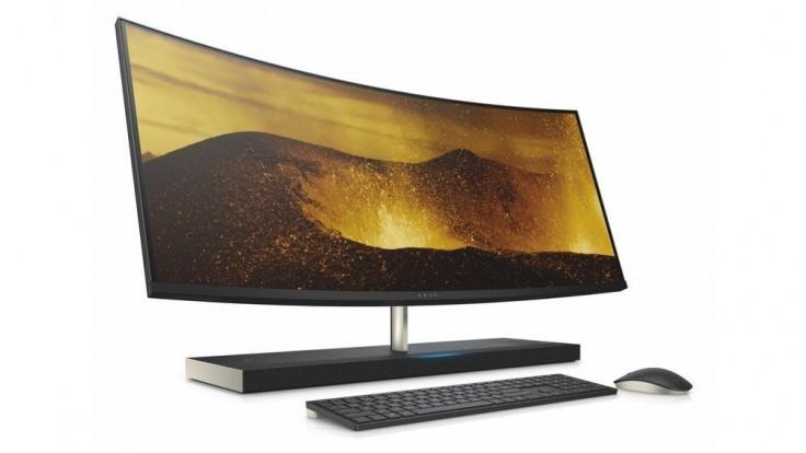 All-in-One počítač od HP s obrím displejom si tyká s Alexou
