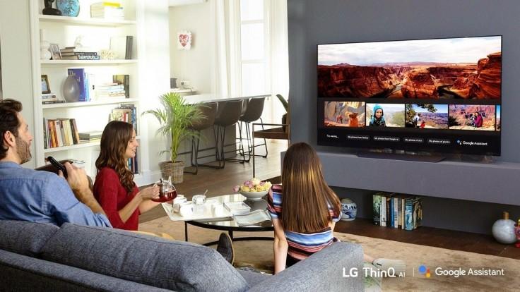 LG svojim AI televízorom 2018 prináša službu Google Asistent