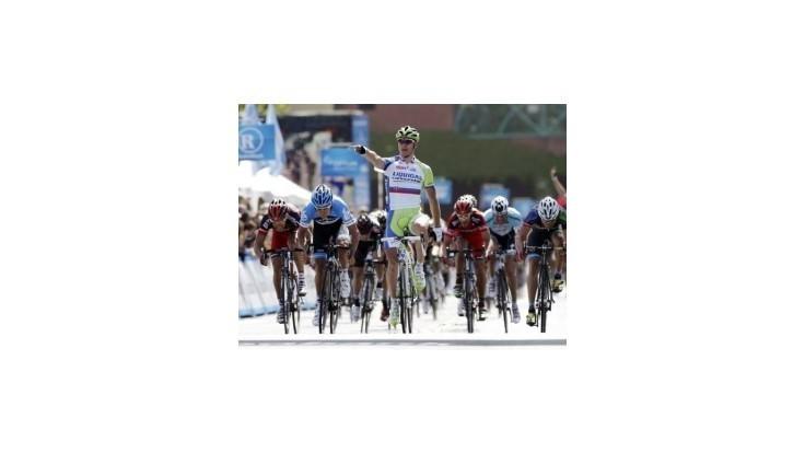 Peter Sagan napriek defektu vyhral úvodnú etapu Okolo Kalifornie