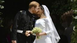 Záznam svadobného obradu princa Harryho a M. Markleovej