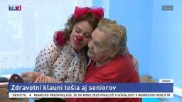 Zdravotní klauni nepracujú len s deťmi, rozveseľujú aj seniorov