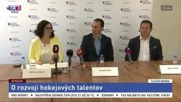 TB M. Lubyovej a zástupcov SZĽH o rozvoji hokejových talentov