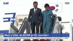 Trumpa pred schôdzkou s lídrom KĽDR navštívil juhokórejský prezident