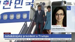 L. Husenicová o stretnutí juhokórejského prezidenta s Trumpom