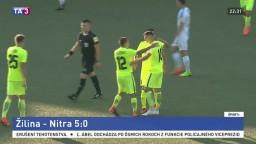 Žilinskí futbalisti suverénne vyhrali, rozhodnuté bolo už po prvom polčase